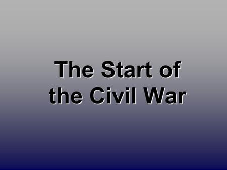 The Start of the Civil War. Secession!: SC  Dec. 20, 1860.