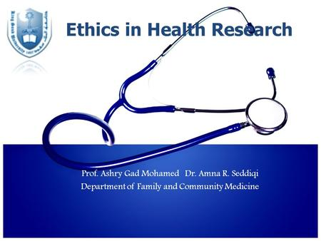 application for ethics review of research involving human participants