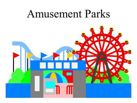 Amusement Parks. A ticket is a small piece of paper that shows that you have paid to get in to the amusement park.