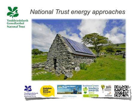 National Trust energy approaches. –
