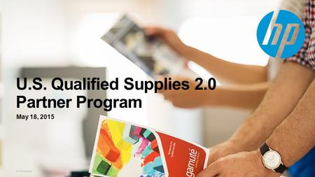 U.S. Qualified Supplies 2.0 Partner Program