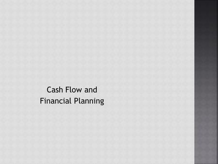 Cash Flow and Financial Planning.  Depreciation is the systematic charging of a portion of the costs of fixed assets against annual revenues over time.