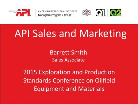 API Sales and Marketing