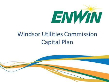 Windsor Utilities Commission Capital Plan