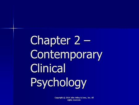 contemporary and ethical issues in psychology 1 listen to the audio lecture while viewing these slides psychology 475 professional ethics in addictions counseling 1 ethical issues in group work.