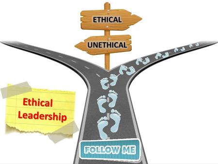 Ethical Leadership. Explain What is meant by Ethical Leadership Describe the Importance of Ethical Leadership Explain What are Ethics Explain the Various.