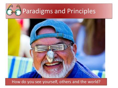 Paradigms and Principles