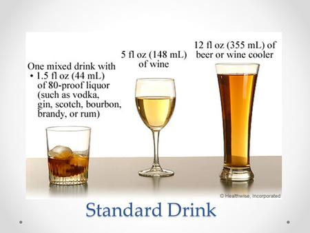 Standard Drink. What is the connection ? What is the connection ? How does alcohol use impact our physical, mental/emotional and social health? PhysicalMental/