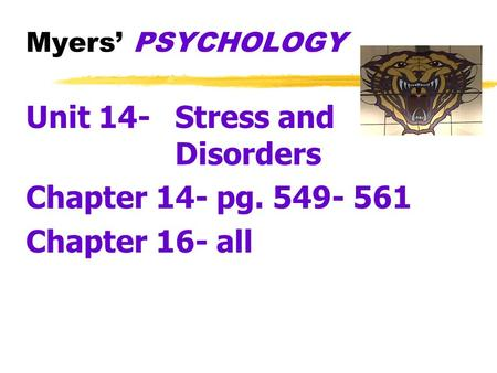 unit 14 physiological disorders
