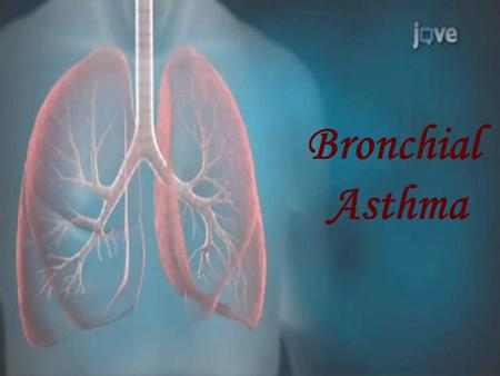 Bronchial Asthma. Bronchial Asthma One of the most common chronic diseases. One of the most common cause of absentees in schools. 287000 deaths per year.