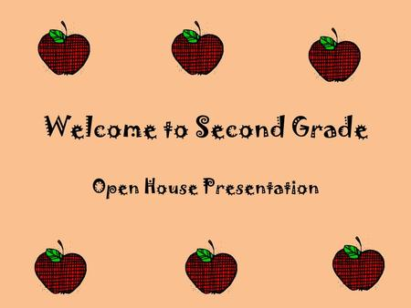 Welcome to Second Grade Open House Presentation. Meet Mrs. Doelling I've been teaching second grade at Mountain View since 2003. Prior to my current position,