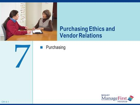Purchasing Ethics and Vendor Relations