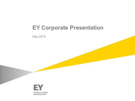 EY Corporate Presentation