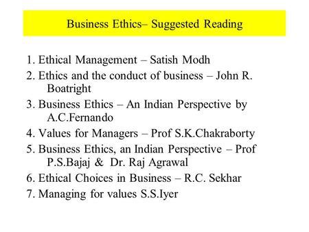 Business ethics big john lawn