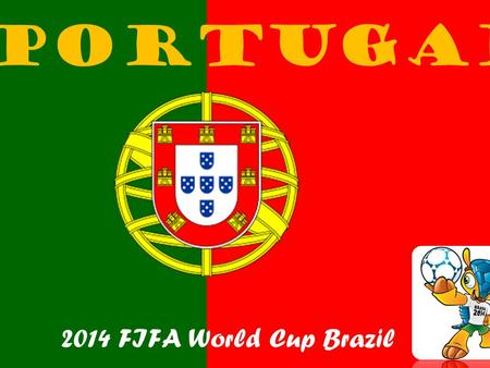 Portugal 2014 FIFA World Cup Brazil. Portugal is situated at the south-west point of Europe and also includes the Madeira and Azores archipelagos in the.