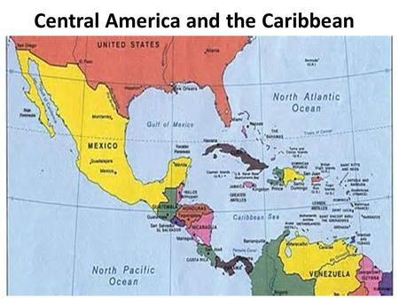 Central America and the Caribbean. The Mayans The Maya is a civilization, noted for the only known fully developed written language of the pre- Columbian.