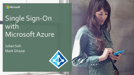 Single Sign-On with Microsoft Azure