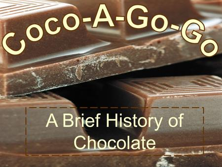 A Brief History of Chocolate.  A product of the cacao tree, chocolate is made from seeds the tree produces, called cacao beans (they're also known as.