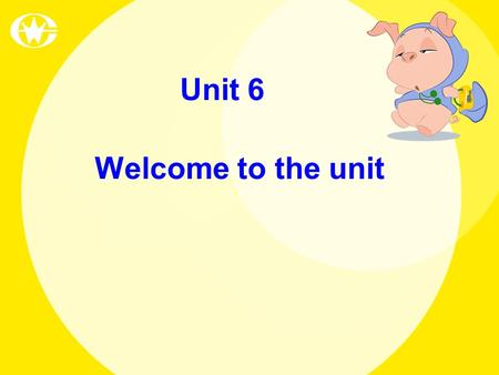 Welcome to the unit Unit 6. What do you usually wear at weekends at home? What do you usually wear at weekdays at school? Do you want to change your clothes?