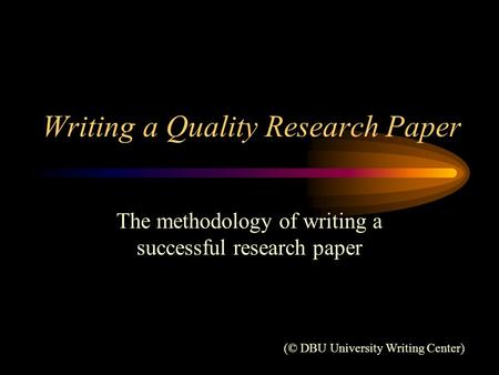 research papers on cvm technique