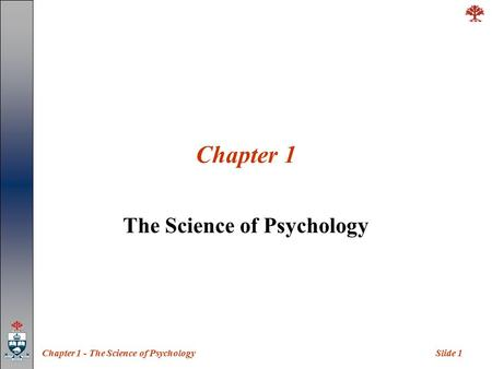 a history and overview of the science of psychology The history of psychology is filled with the history of psychology and its major theorists how james mckeen cattell helped establish psychology as science.
