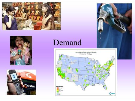 Demand. –The desire to own something, and the ability to pay for it. The Law of Demand –As prices go up quantity demanded goes down. –As prices go down.