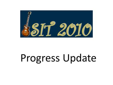 Progress Update. Dates and Location Austin, Texas USA Hilton Austin (downtown) – Conference hotel – Technical program June 12-18 (Saturday through Friday)