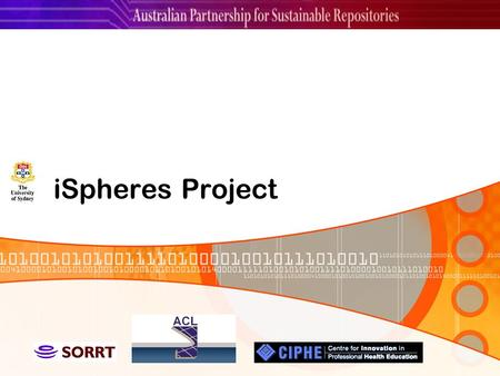 ISpheres Project. Project Overview iSpheresCore iSpheresImage Demonstration References.