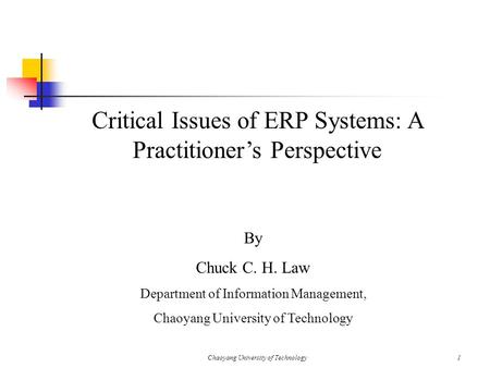 Critical issues in managing information systems