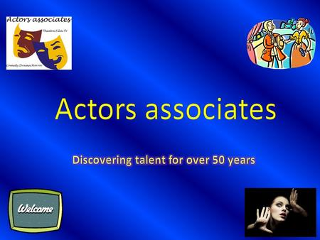 Introduction Actors associates is a successful, well-established actors agency that provides work for a wide range of professional actors. We cover all.