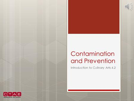 Contamination and Prevention