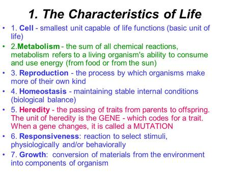 Printables Characteristics Of Life Worksheet characteristics of life lessons for middle school archaea august 2012 mondaytuesdaywednesdaythursdayfriday 2021 first day of