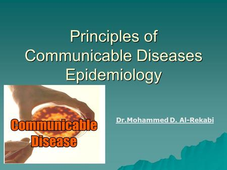epidemiology and communicable diseases hiv Communicable diseases (cds) hiv, tuberculosis, malaria,neglected tropical diseases and viral hepatitis affect billions of people around the world, and cause more than 4 million deaths each year.