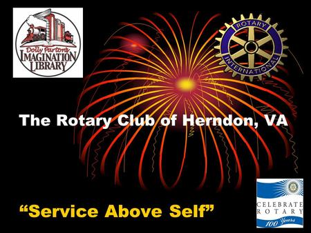 "The Rotary Club of Herndon, VA ""Service Above Self"""