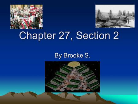Chapter 27, Section 2 By Brooke S.. Economic Goals and Growth After independence, a goal of Middle Eastern nations was to reduce European economic influence.