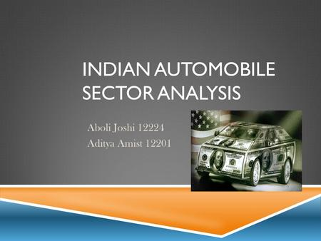 Indian Automobile Sector Analysis