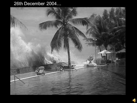 1 26th December 2004… 26th December 2004…. 2 11,000 people 19 villages 5,000 families 2,000 devastated fishermen TSUNAMI were affected in and around Auroville.