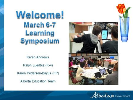 March 6-7 Learning Symposium