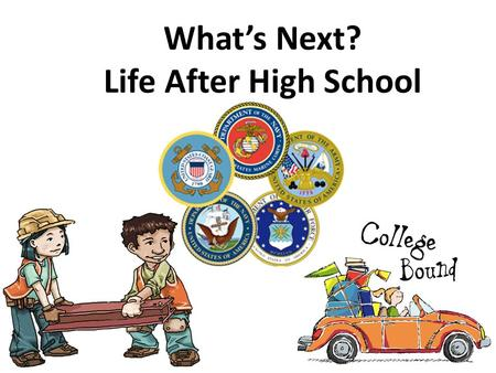 "What's Next? Life After High School. Activity 1: Guided Composition ""10 Rules for Going to College When Nobody Really Expected You To"" by Joe Rodriguez."