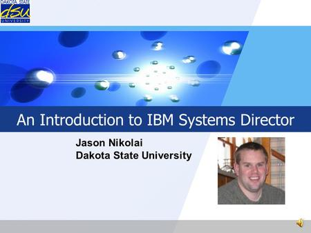 An Introduction to IBM Systems Director