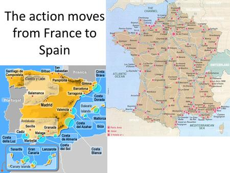 The action moves from France to Spain. Chapter 10 In Bayonne, why is Robert acting so nervously?