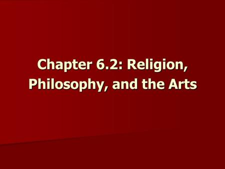 Chapter 1: What is Christian Ethics?