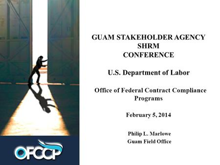 an introduction to the labor departments office of federal contract compliance programs ofccp and ef Of labor's office of federal contract compliance programs (ofccp)  departments of justice  in the federal workplace, us office of.