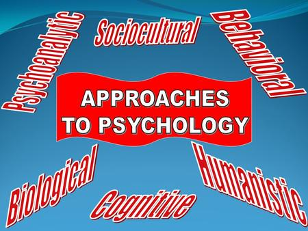 What is Psychology? The scientific study of behavior and mental processes (humans and animals) Covers what we….. Think Feel Do Largest association of.