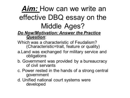 Argumentative Essay Introduction Example While Europe Was In The Middle Ages Practicing Feudalism Aim How Can We  Write An Effective Essay Topics For Education also Fossil Fuels Essay Feudalism Essay Timeline Feudal Age Of Feudalism Essay Essays On  Essay About The Internet