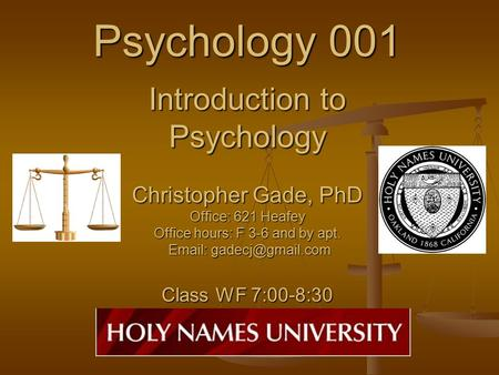 Introduction To Psychology Essay