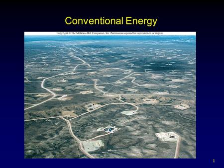 1 Conventional Energy. 2 Outline Energy History How Energy Is Used Coal Oil Natural Gas Nuclear Power  Fission  Reactors  Waste Management  Fusion.