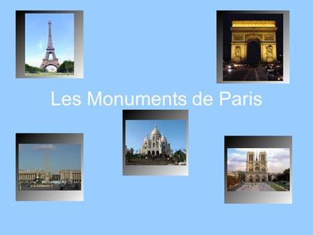 Les Monuments de Paris. The subway built in 1900 with one line, now has 380 stations below Paris!