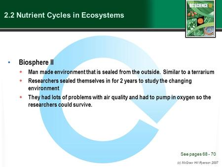 2.2 Nutrient Cycles in Ecosystems