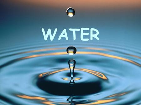 WATER.  How much water do we use? Total amount of water used 2,426 gallons!!! If use low flow products, 422 gallons.